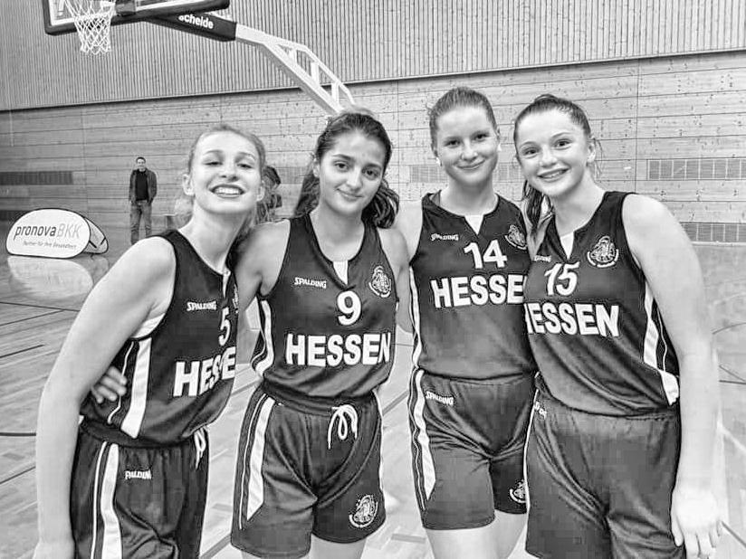 """<span class=""""caps"""">TZI</span> Hofheim Spielerinnen beim Bundesjugendlager in Heidelberg"""